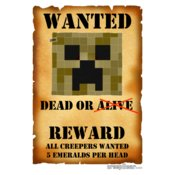 Wanted Poster: creepGEAR