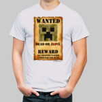 Minecraft Wanted Posted: Creeper