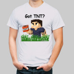 Minecraft shirt: Got TNT