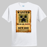 Creeper Wanted Poster