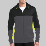 Adult Fleece Colorblock Jacket