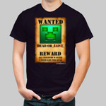Creeper Wanted Poster: Green