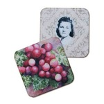 Square Fabric Coaster